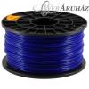 Filament PLA tekercs, 3mm, Kék (1kg)