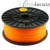 Filament PLA tekercs, 3mm, Narancssárga (1kg)