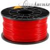 Filament PLA tekercs, 3mm, Piros (1kg)