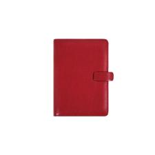 """FILOFAX Kalendárium, gyûrûs, betétlapokkal, A5, FILOFAX """"Metropol"""", vörös gyűrűs kalendárium betétlap"""