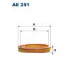 Filtron AE251 Filtron levegőszűrő