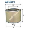 Filtron AM465/2 Filtron levegőszűrő