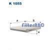 Filtron K1055 pollenszűrő