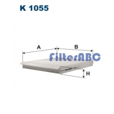 Filtron K1055 pollenszűrő pollenszűrő