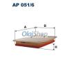 Filtron Légszűrő (AP 051/6)
