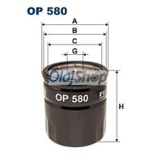 Filtron Olajszűrő (OP 580) olajszűrő