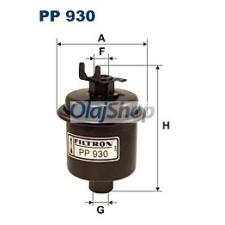 Filtron Üzemanyagszűrő (PP 930) üzemanyagszűrő