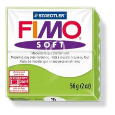 "FIMO Gyurma, 56 g, égethető, FIMO ""Soft"", alma zöld gyurma"