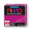 "FIMO Gyurma, 85 g, égethető, FIMO ""Professional"", magenta"