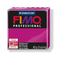 "FIMO Gyurma, 85 g, égethető, FIMO ""Professional"", magenta süthető gyurma"
