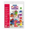 """FIMO Gyurma készlet, 9x25 g, égethető, FIMO """"Soft Basic"""", vegyes színek"""