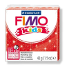 FIMO Kids Gyurma, 42 g, égetheto, glitteres piros
