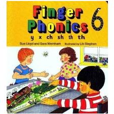 Finger Phonics book 6 – Sue Lloyd idegen nyelvű könyv