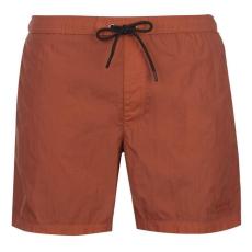 Firetrap férfi fürdőnadrág - Firetrap Blackseal Dye Swim Shorts Baked Clay
