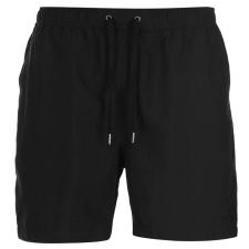 Firetrap férfi fürdőnadrág - Firetrap Swim Shorts Mens Black férfi fürdőnadrág