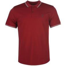 Firetrap férfi pólóing - Firetrap Lazer Slim Fit Polo Shirt RumbaRed2