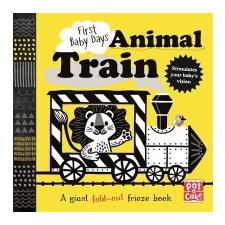 First Baby Days: Animal Train – Pat-a-Cake idegen nyelvű könyv
