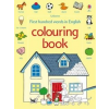 First Hundred Words Colouring Book