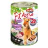 FitActive ADULT DOG Goose & Rabbit with Apple 1240g