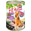 FitActive; Panzi FitActive DOG 1240g konzerv liba-nyúl-alma 1.24kg