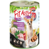 FitActive; Panzi FitActive DOG 415g konzerv liba-nyúl-alma 415g