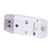 Flash memóriakártya olvasó iPhone, Micro USB és USB 2.0