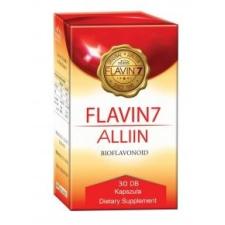 Flavin7 Alliin - bioflavonoid komplex + fokhagyma  - 30 db kapszula gyógyhatású készítmény