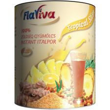Flaviva Slimonádé (Tropical Slim) (250 gr) 100% zöldség-gyümölcs instant italpor vitamin és táplálékkiegészítő