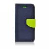 Flexi color book tok - Lenovo Vibe X3 - sötétkék - lime