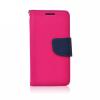 Flexi color book tok - Samsung J110H Galaxy J1 Ace - rózsaszín - sötétkék