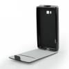 Flexi flip tok - Samsung G928FZ Galaxy S6 Edge+, fekete