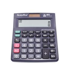 """FLEXOFFICE Számológép, asztali, 12 számjegy, FLEXOFFICE """"FO-CAL05P"""", szürke számológép"""