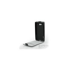 Flip szilikon belső Flip tok szilikon belsővel, LG K8 2017, fekete tok és táska