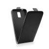 Flip szilikon belső Flip tok szilikon belsővel, Microsoft Lumia 650, fekete