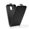 Flip szilikon belső Flip tok szilikon belsővel, Motorola G5, fekete