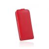 Flip szilikon belső Flip tok szilikon belsővel, Samsung A520 Galaxy A5 (2017), piros