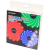 Floston ICE15 PC ventilátor, 120 mm, 1300 RPM, RGB (ICE 15RGB LED)
