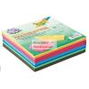 Folia Origami papír, 10 színű vegyes színes hajtogató készlet, 15x15 cm, összesen 500 lap