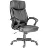 """. Főnöki szék, bőrborítás, fekete lábkereszt, """"Hawaii"""", fekete"""