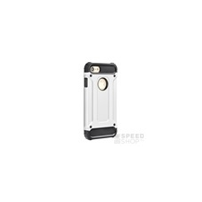 Forcell Armor hátlap tok Apple iPhone 5/5S/SE, ezüst tok és táska