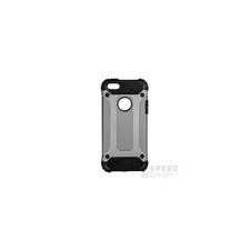 Forcell Armor hátlap tok Apple iPhone 5/5S/SE, szürke tok és táska