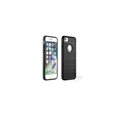 Forcell Carbon hátlap tok Huawei Y7/Y7 Prime, fekete tok és táska