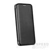 Forcell Elegance oldalra nyíló hátlap tok Apple iPhone 5/5S/SE, fekete