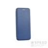 Forcell Elegance oldalra nyíló hátlap tok Huawei P Smart, kék