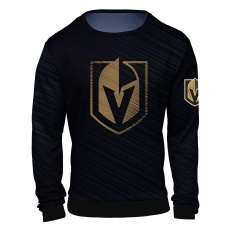 FOREVER Collectibles™ Vegas Golden Knights fĂŠrfi pulóver black NHL Static Rain - S,(USA)
