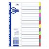 Forpus Regiszter forpus karton színes a/4 12 részes