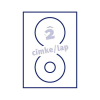 Fortuna ETIKETT FORTUNA 117 CD CÍMKE (KISLYUKÚ) UNIVERZÁLIS