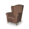 Fotel, barna, CHARLOT