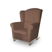 Fotel, barna, CHARLOT bútor