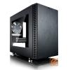FRACTAL DESIGN Define NANO S Fekete Ablakos (Táp nélküli) ITX ház